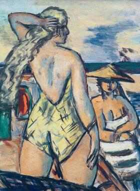 Max Beckmann: Mädchen am Meer