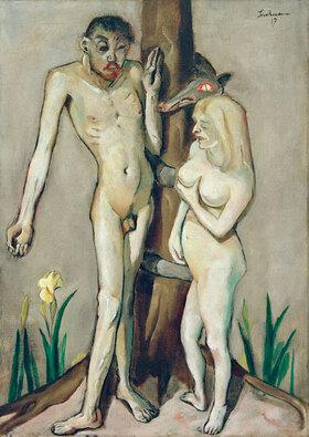 Max Beckmann: Adam und Eva