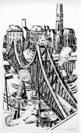 Max Beckmann: Große Brücke