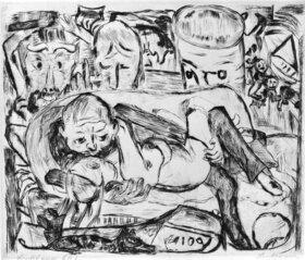 Max Beckmann: Liebespaar