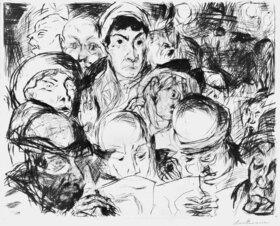 Max Beckmann: Die Kriegserklärung