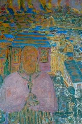 Pierre Bonnard: Painting of St. Francis de Sales