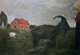 Paula Modersohn-Becker: Die Ziegenhirtin