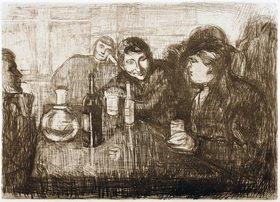 Edvard Munch: Kristiana Bohemiens I
