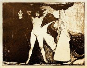 Edvard Munch: Das Weib (Die Sphinx)