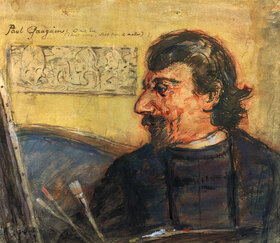 Anton Hartinger: Porträt von Paul Gauguin