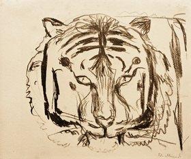 Edvard Munch: Tigerkopf II