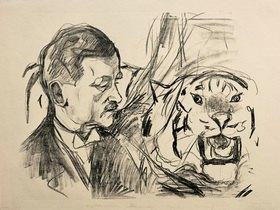 Edvard Munch: Der Tigerbändiger Richard Sawade