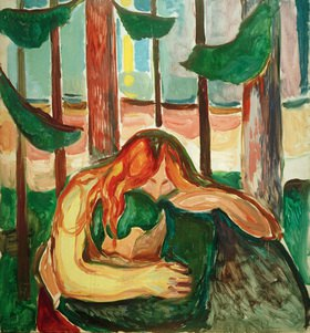 Edvard Munch: Vampir im Wald