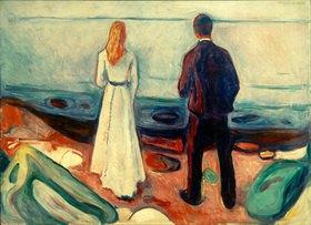 Edvard Munch: Zwei Menschen, Die Einsamen