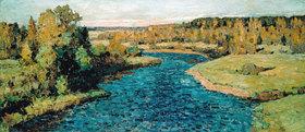 Pjotr Iwanowitsch Petrowitschew: River in Autumn