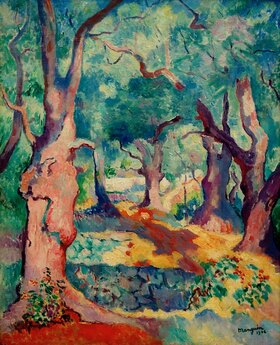 Henri Manguin: Olivenbäume bei Cavalière