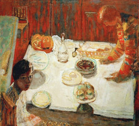 Pierre Bonnard: The White Tablecloth