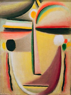 Alexej von Jawlensky: Abstract Head