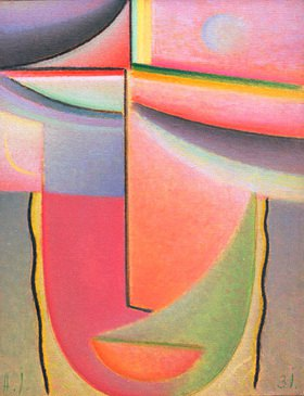 Alexej von Jawlensky: Abstract Head: Aurora