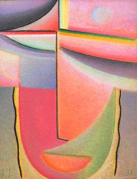 Alexej von Jawlensky: Abstrakter Kopf: Aurora