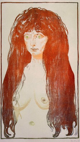Edvard Munch: Aktfigur, Die Sünde