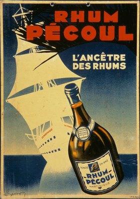 Rum Récoul / Plakatwerbung