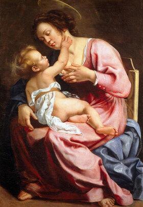 Artemisia Gentileschi: Madonna und das Kind