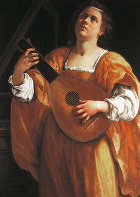 Artemisia Gentileschi: St Cecilia