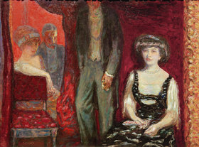 Pierre Bonnard: The box, Mr. and Mrs. Josse and Gaston Bernheim-Jeune
