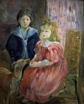 Berthe Morisot: Portrait von Charley and Jeannie Thomas