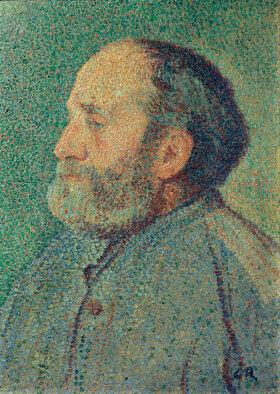 Christian Rohlfs: Portrait eines bärtigen Mannes