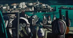 Max Beckmann: Blick auf Genua: Der Hafen von Genua