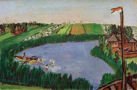 Max Beckmann: Holländische Landschaft mit Badenden