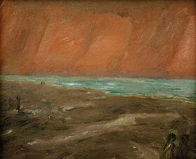 Max Beckmann: Trüber Abend am Meer