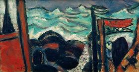 Max Beckmann: Kleines stürmisches Meer