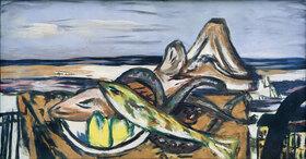 Max Beckmann: Landschaft mit frutti di mare