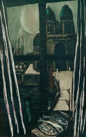 Max Beckmann: Kirche in Marseille