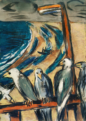 Max Beckmann: Möwen im Sturm