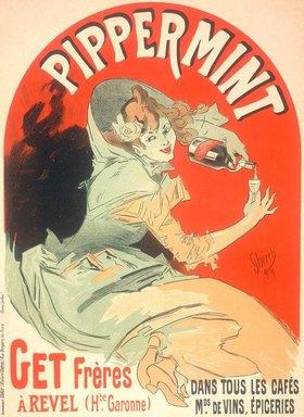 Jules Cheret: PIPPERMINT – dans tous les cafés
