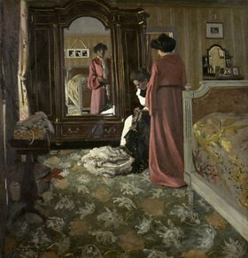 Felix Vallotton: Interieur