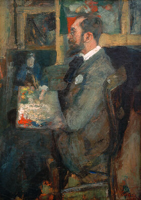 James Ensor: Portrait de Théo Hannon