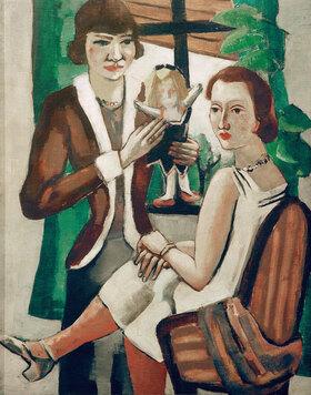 Max Beckmann: Damen am Fenster