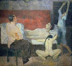 Max Beckmann: Große Sterbeszene