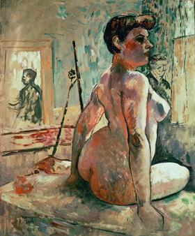 Henri Manguin: Nude posing in a studio