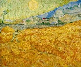 Vincent van Gogh: Ernte, Saint-Rémy, September 1889