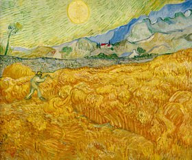 Vincent van Gogh: Ernte, Saint-Rémy, September