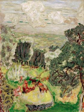 Pierre Bonnard: Alpenlandschaft mit Ziegenherde)