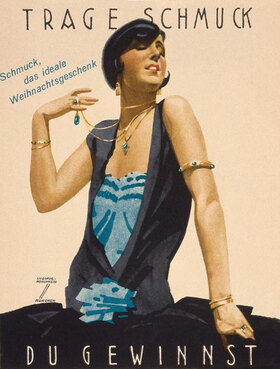Advertising poster, design by Ludwig Hohlwein