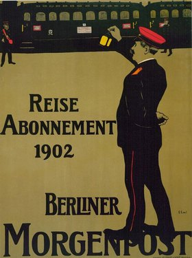 Reise Abonnement 1902 / Berliner Morgenpost