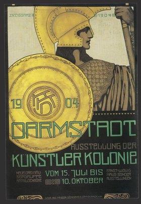 Darmstadt – Ausstellung der Künstlerkolonie Neue Dreihäus