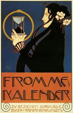 Koloman Moser: FROMMES KALENDER