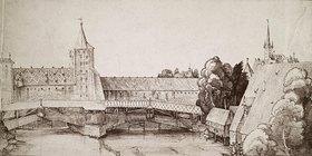 Albrecht Dürer: Der Trockensteg beim Hallertor in Nürnberg