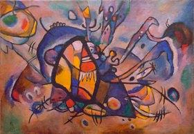 Wassily Kandinsky: Abstrakte Komposition, Feuervogel, 1917.