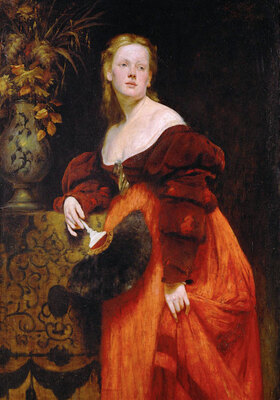 Hans Makart: Portrait Karoline Gomperz